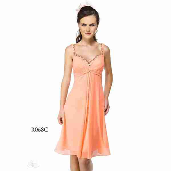 Orange Dress Image