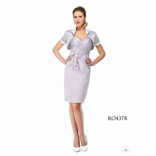 Silver Metalic Dress Image