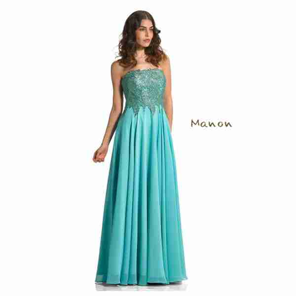 Manon Aqua Dress Image