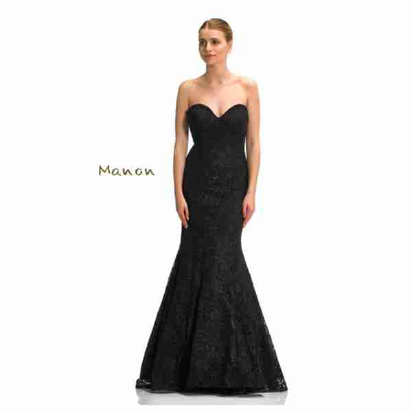 Manon Black Dress Image