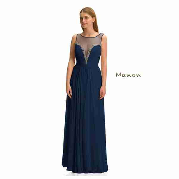 Manon Dark Blue Dress Image