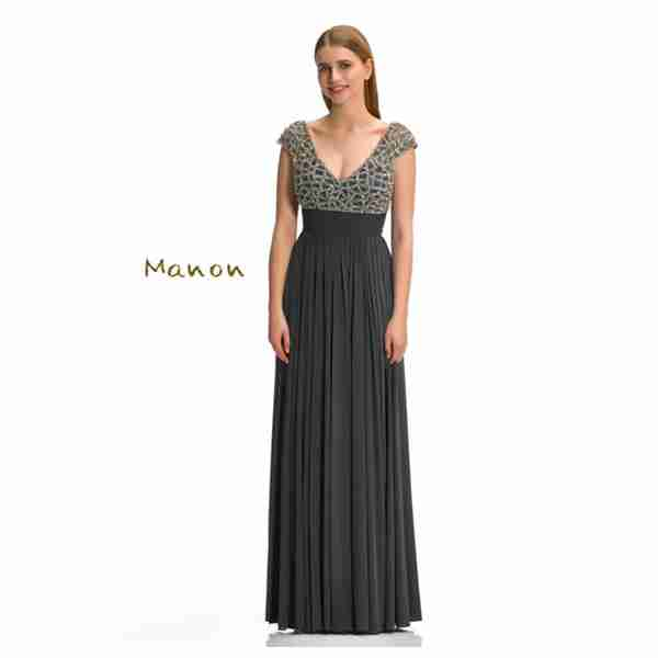 Manon Dark Green Dress Image