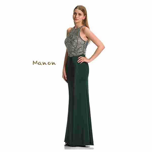 Manon Green Dress Image