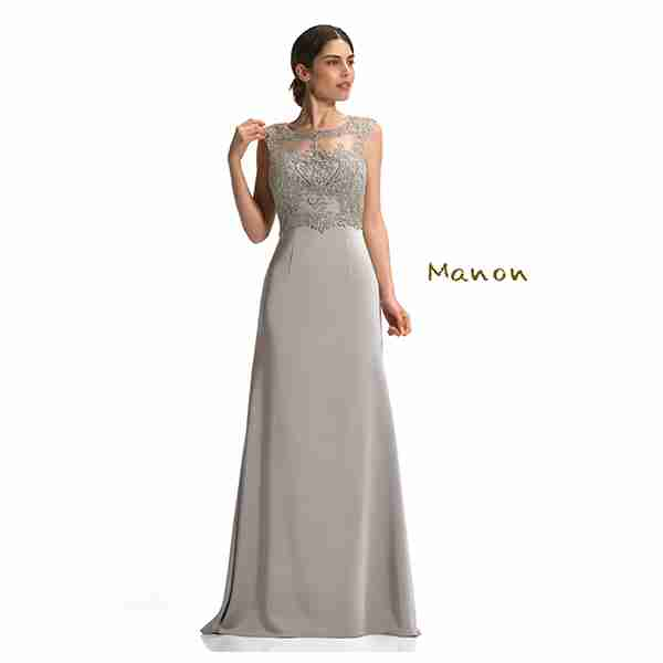 Manon Grey Dress Image