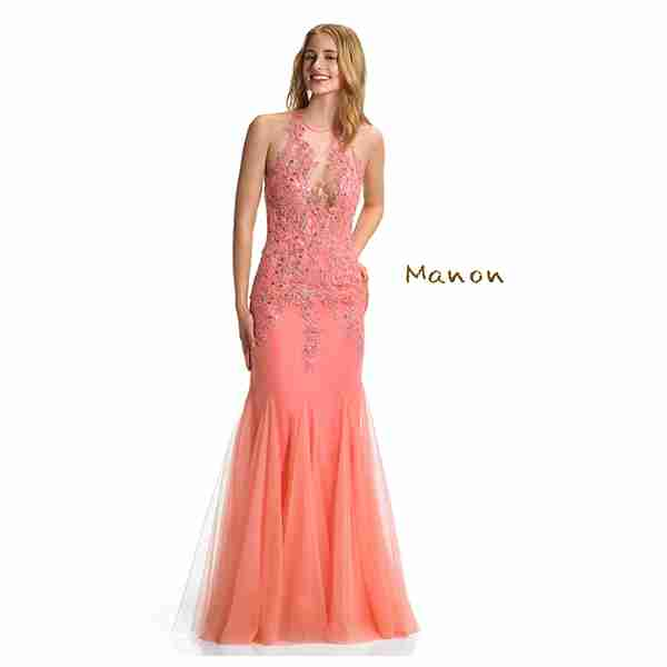 Manon Orange Dress Image