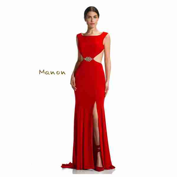 Manon Red Dress Image