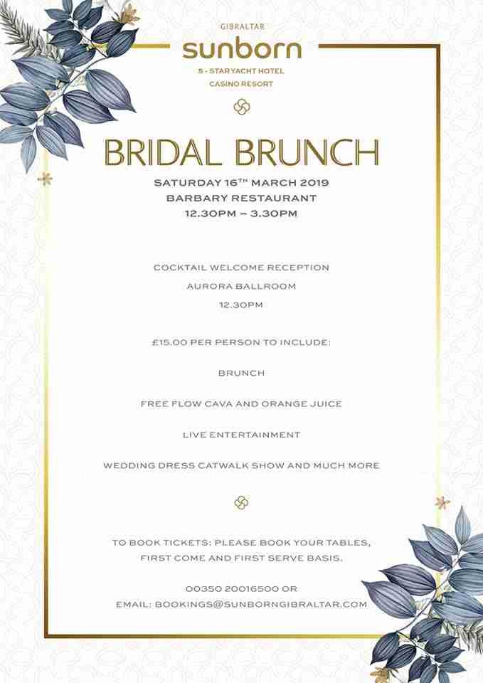 Sunborn Bridal Brunch March 2019