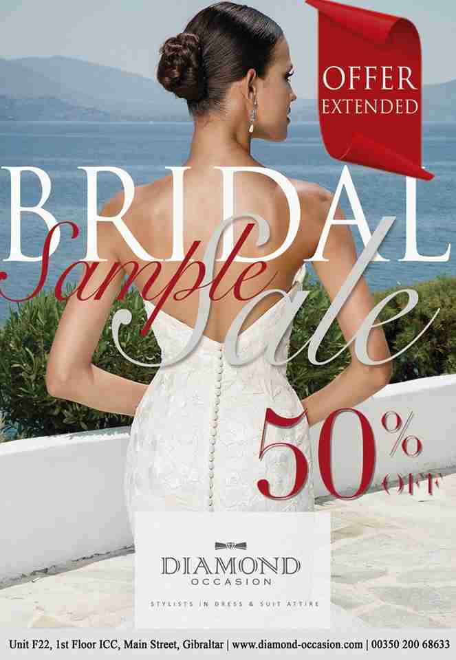 Bridal Gown Sale Extended!