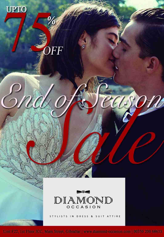 **End Of Season Sale! Starts Mon 30th September!**